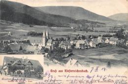 GRUSS Aus KLOSTERREICHENBACH~PANORAMA VIEW 1904 PSTMK PHOTO POSTCARD 41981 - Baiersbronn