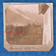Photo Ancienne - CHAMONIX - Vue Vers Le Mont Blanc - Vers 1900 - Haute Savoie Histoire Patrimoine - Photos