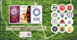 Qatar 2017. Football - Qatar Cup (MNH OG) Miniature Sheet - Qatar
