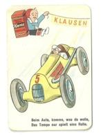 """5512"""" KNORR-NAHRMITTEL A-G - THAYNGEN - FIGURINA SU CARTONCINO-BEIM AUTO KOMME WAS DA WOLLE..""""AUTOMOBILISMO-ORIG. - Other"""