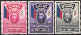 1939  Yvert Nº 277, 12 / 13,  MH - Haiti