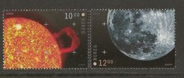 "NORUEGA / NORWAY / NORWEGEN / NORVÉGE - EUROPA 2009 - TEMA ""ASTRONOMIA"" - SERIE De 2 V. - Europa-CEPT"