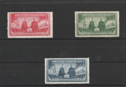 CHINA - 19-10-23  3 MINT STAMPS. NORD OST CHINA. COMPLET SET. - Neufs