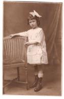 CPP 198 - CARTE PHOTO - Jeune Fille - Photo A. Pasquito à Paris - Altri