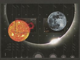 "NORUEGA / NORWAY / NORWEGEN / NORVÉGE - EUROPA 2009 - TEMA ""ASTRONOMIA"" - HOJITA BLOQUE - Europa-CEPT"