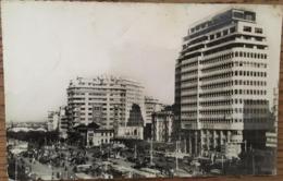 CPA, CPSM, CASABLANCA, Place De France, Cliché R.G, écrite En 1952 - Casablanca