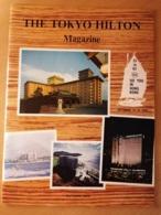 OLD TOURISM BROCHURE GUIDE THE TOKYO HILTON MAGAZINE HONG KONG HAWAII KAHALA 1965 RRR - Travel/ Exploration