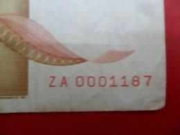 Yugoslavia-Jugoslavija 10000 Dinara 1992, P-116ar, Replaciment Low Numbering Notes, You Choose The One You Want - Jugoslavia