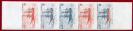 New Caledonia 1982 #476, Color Proof Stripe Of 5 (1), Barque Le Cher, Ship - Ungebraucht