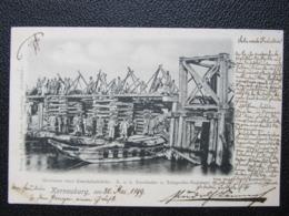 AK KORNEUBURG Eisenbahnregiment 1899 // D*40357 - Korneuburg