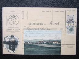 AK MANK Bei MELK Collage 1906  // D*40358 - Melk