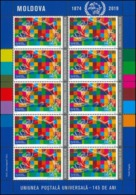 Moldova 2019 Universal Postal Union – 145 Years Sheetlet** MNH - Europe (Other)
