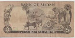 SUDAN P. 14b 5 P 1978 VF - Sudan