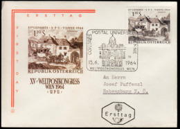 Austria Vienna 1964 / Weltpostkongress / UPU Congress / Cancel No. 25 - UPU (Wereldpostunie)