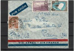 LCTN57/5 -  ARGENTINE LETTRE AVION POUR PARIS JUIN 1938 MARQUE HÔTEL CONTINENTAL BS AS - Posta Aerea