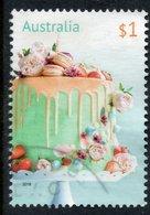 2019 AUSTRALIA BIRTHDAY CAKE VERY FINE POSTALLY USED $1 Sheet STAMP - 2010-... Elizabeth II