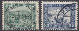 JUGOSLAVIA - 1931 - Lotto Composto Da 2 Valori Usati: Yvert 207 E 209. - Gebraucht