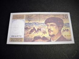 "FRANCE 20 Francs 1986 ""debussy"", Pick N° 151 A ,fayette N°66 (7), FRANCIA ,FRANKREICH , - 1962-1997 ''Francs''"