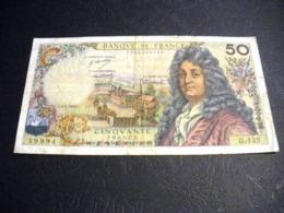 "FRANCE 50 Francs 06/03/1969 ""racine"", Pick N° 148 C ,fayette N°64 (13), FRANCIA ,FRANKREICH , - 1962-1997 ''Francs''"