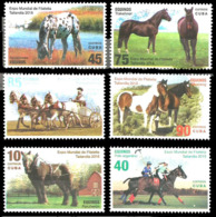 233  Horses - Chevaux - 2018 - MNH - Cb - 2,45 - Chevaux