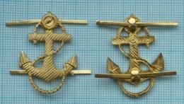 USSR Soviet Union RUSSIA Navy. Fleet.  Emblem Anchor On The Marine Uniform. - Uniformes