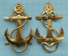 USSR Soviet Union RUSSIA Navy. Fleet.  Emblem Anchor On The Marine Uniform. - Divise