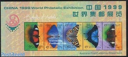 Australia 1999 China 99 S/s, (Mint NH), Nature - Butterflies - Stamps - Philately - 1990-99 Elizabeth II