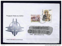 Lil3AC36 POLOGNE Lettre 2005 Pour Brugelette Belgique Affr. Multiple - 1944-.... Republic