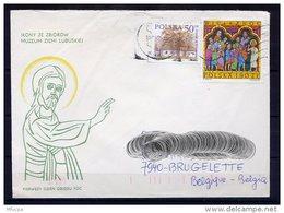 Lil3AC89 POLOGNE Lettre 2006 Kutno Pour Brugelette Belgique Affr. Multiple - 1944-.... Republic