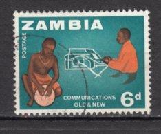 ##33, Zambie, Zambia, Tambour, Drum, Musique, Music, Machine à écrire, Dactylo, Communication - Zambie (1965-...)