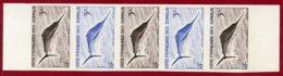 Somali Coast 1959 #277, Color Proof Stripe Of 5, Marlin Fish - Côte Française Des Somalis (1894-1967)
