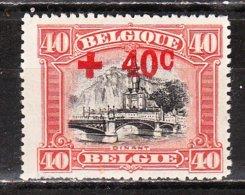 158*  Croix-Rouge - Bonne Valeur - MH* - LOOK!!!! - 1918 Cruz Roja