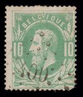 COB 30  - Belle Obl. Losange De Points - Bureau N° 400 (WESTERLOO) - 1869-1883 Leopold II.