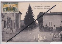 Givry En Argonne (51) Rue Des Francs Bourgeois (très Belle Animation) - Givry En Argonne