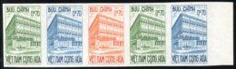 S.Vietnam 1962 #189, Color Proof Stripe Of 5, Postal Checking Service - Vietnam