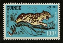 Guinea 1962 Sc#253 - 100fr Leopard Fauna Cat Mint MNH VF - Big Cats (cats Of Prey)