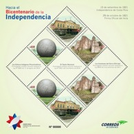 Costa Rica MNH Issue To The Bicentenary Of The Independence 2019 - Costa Rica