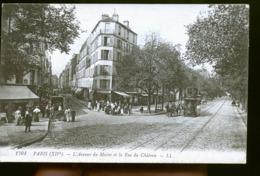 PARIS AVENUE DU MAINE LE TRAM - District 14