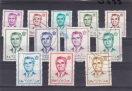 Iran Used  1971  Complete Set Stamps  U#70 - Iran
