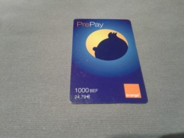 Belgium - Nice Prepaid Phonecard - [2] Prepaid & Refill Cards