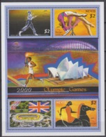 Nevis 10.06.2000 Mi # 1545-48 KlbgSydney Summer Olympics, MNH OG - Verano 2000: Sydney