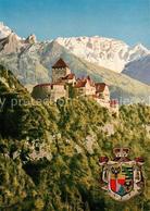 73293495 Vaduz Schloss Wappen Vaduz - Liechtenstein