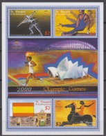 St Vincent & The Grenadines 26.06.2000 Mi # 1545-48 KlbgSydney Summer Olympics, MNH OG - Verano 2000: Sydney