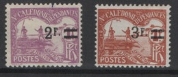 Nouvelle-Calédonie 1906, YT Taxe 24 - 25 * , Cote 15,00 - Portomarken