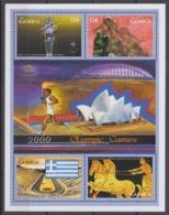 Gambia 01.05.2000 Mi # 3584-87 KlbgSydney Summer Olympics, MNH OG - Verano 2000: Sydney