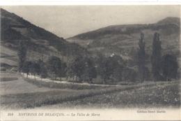 104. ENVIRONS DE BESANCON . LA VALLEE DE MORRE . Edt HENRI MARTIN . CARTE ECRITE AU VERSO - Autres Communes