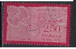 FRANCE        N°  YVERT  :  2631  ( 3 )   OBLITERE - Gebraucht