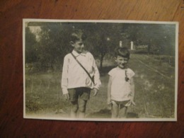 1927 TREMOSINE BRESCIA BAMBINI ENFANTS CHILDREN - Andere Städte