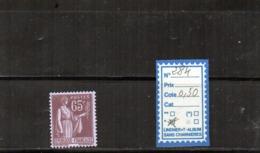 FRANCE Charnière  N° 284 - 1932-39 Paz