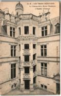 61li 1909 CPA - LES TROIS MOUTIERS - LE CHATEAU DE LA MOTTECHANDENIER - Les Trois Moutiers